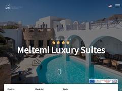 Meltemi Luxury Suites - 4 * Hotel, Perissa, Santorini, Cyclades