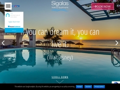Sigalas - Ξενοδοχείο 1 * - Φηρά - Θήρα - Σαντορίνη - Κυκλάδες