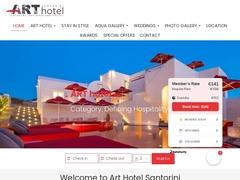 Art Hotel Santorini 4 * - Pyrgos - Kalisti - Santorini - Cyclades