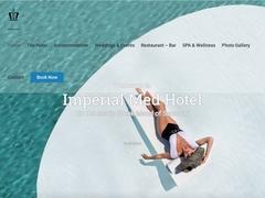 Imperial Med - Hotel 4 * - Perivolia - Santorini - Cyclades