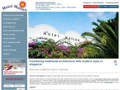 Matina - 3 * Hotel - Kamari - Santorini - Cyclades