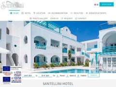Santellini - 3 * Hotel - Kamari - Santorini - Cyclades