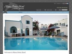 Preka Maria - Hotel 1 * - Kamari - Santorin - Cyclade