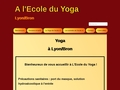 A l'école du yoga