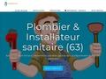 Artisan plombier chauffagiste Clermont Fd