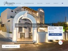 Μαργαρίτα - Ξενοδοχείο 1 * - Φηροστεφάνι - Σαντορίνη - Κυκλάδες