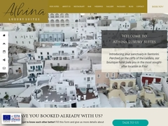 Athina Luxury Suites - Hotel 3 Clés, Fira, Thira, Santorini - Cyclades
