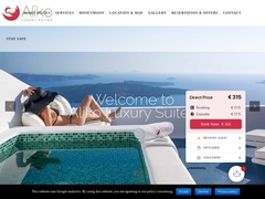 Aliko Luxury Suites - 3 Keys Hotel - Imerovigli - Santorini - Cyclades