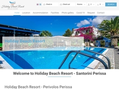 Holiday Beach Resort - 3 Keys Hotel -Perissa - Santorini - Cyclades