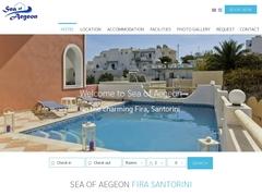 Sea of Aegeon Hotel - Φηρά - Θήρα - Σαντορίνη - Κυκλάδες
