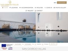 San Giorgio Villas - 3 Keys Hotel - Fira - Santorini - Cyclades