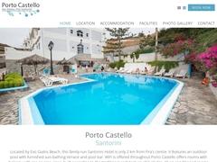Porto Castello - 3 Keys Hotel - Exo Gialos - Santorini - Cyclades