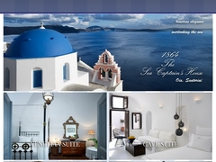 1864 The Sea Captain's House - Hôtel 4 * - Oia - Santorin - Cyclades