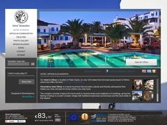 Alexandros Beach- 3 * Hotel - Platys Gialos - Sifnos - Cyclades