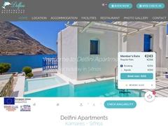 Delfini - 3 Keys Hotel - Αγία Μαρίνα - Καμάρες - Σίφνος - Κυκλάδες