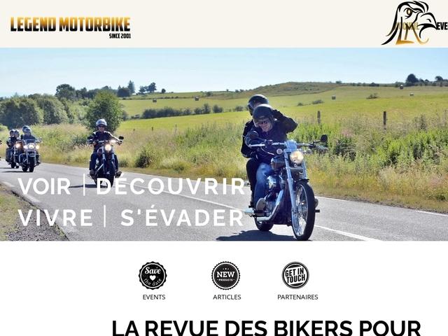 LA REVUE des BIKERS / LEGENDMOTORBIKE
