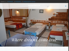 Aposperitis Studios - Hôtel 3 Clés - Kini - Syros - Cyclades