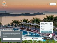 Sunrise Beach - Hôtel 3 Clés - Mana - Azolimnos - Syros - Cyclades