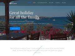 Cyclades Hôtel 2 * - Finikas - Azolimnos - Syros - Cyclades