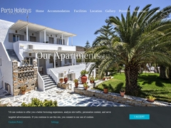 Porto Holidays - Hôtel 3 Clés - Agios Ioanis Porto - Tinos - Cyclades