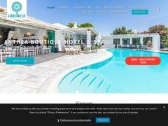 Anthia - Ξενοδοχείο 3 * - Άγιος Φωκάς - Τήνος - Κυκλάδες