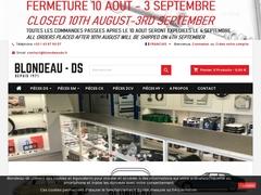 Blondeau DS - Vente de pièces détachées de Citroën DS et SM