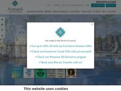 Anemos Luxury Resort 5 * - Γεωργιούπολη - Χανιά - Κρήτη