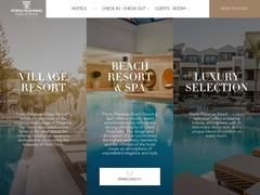 Παραλία Porto Platanias - Ξενοδοχείο 5 * - Πλατανιάς - Χανιά - Κρήτη