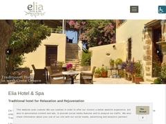 Elia Traditional Hotel 4 * - Κολυμπάρι - Χανιά - Κρήτη