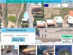 Thalassa - 3 Keys Apartments - Drapanias - Chania - Crete