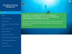 Scottish Diving Medicine