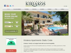 Kyriakos Apartments 3 Keys - Stalida - Heraklion - Crete