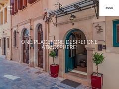 Fortino Boutique - 3 * Hotel - Venetian Quarter - Chania - Crete