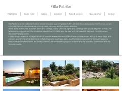 Patriko Villa - 3 * Hotel - Kalyviani - Chania - Crete