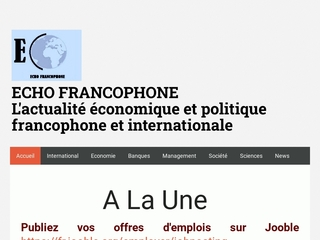 Echo Francophone