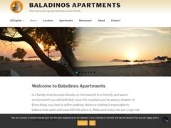 Baladinos Studios - 3 Keys Hotel - Gerani - Platanias - Chania - Crete