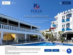 Folia - 3 Keys Hotel - Agia Marina - Chania - Crete