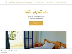 Villa Apollonia Apartments 2 Keys - Αγία Πελαγία - Ηράκλειο - Κρήτη