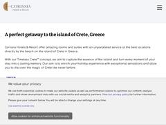 Corissia Beach Hotel 2 * - Γεωργιούπολη - Χανιά - Κρήτη
