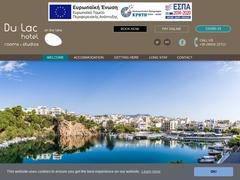 Du Lac - 1 * Hotel - Agios Nikolaos - Lassithi - Crete