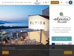 Elpida Village Hôtel 2 *- Istron - Agios Nikolaos - Lassithi - Crète
