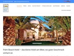 Palm Beach Hôtel 2 * - Koutsouras - Makry Gialos - Lassithi - Crète