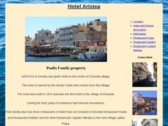 Aristea Hôtel 2 * - Elouda - Lassithi - Crète