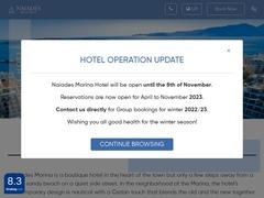 Naiades Marina Hotel - Μαρίνα του Αγίου Νικολάου - Λασίθι - Κρήτη