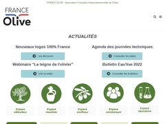 Accueil - FRANCE OLIVE - AFIDOL