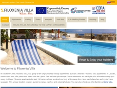 Filoxenia Villa - Hôtel 2 * - Koutsounari - Lassithi - Crète