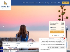 Porto Sissi Apartments - Ξενοδοχείο 4 * - Σίσσι - Λασίθι - Κρήτη