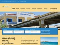 Διαμερίσματα Mikes Beach - Ανισσαράς - Χερσόνησος - Ηράκλειο - Κρήτη