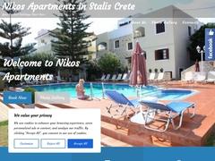 Διαμερίσματα Νίκος - Σταλίδα - Ηράκλειο - Κρήτη