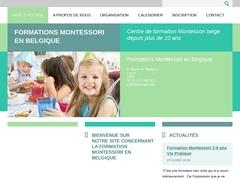 Formations Montessori en Belgique